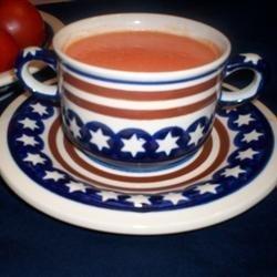 Cream of Fresh Tomato Soup recipe