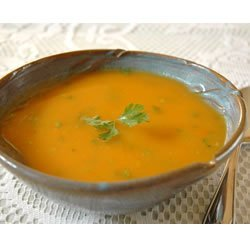 Carrot Chile and Cilantro Soup recipe