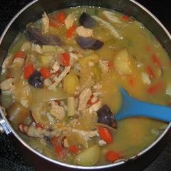 Chicken Vegetable Barley Soup recipe