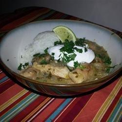 Pork Stew in Green Salsa (Guisado de Puerco con Tomatillos) recipe