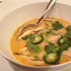 Authentic Thai Coconut Soup recipe