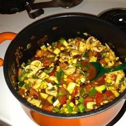 Summer Vegetarian Chili recipe