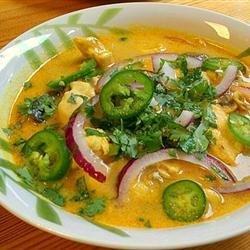 Spicy Chicken Thai Soup recipe