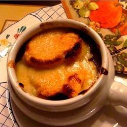 French Onion Soup VIII recipe
