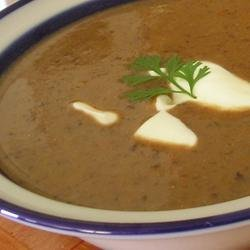 Black Bean Soup II recipe