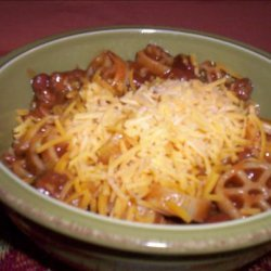Wagon Wheel Chili recipe