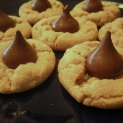 Crispy Peanut Butter Cookies recipe