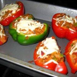 Vegetarian Stuffed Bell Peppers recipe