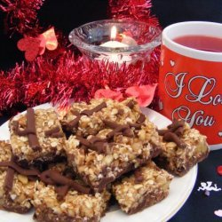 Chocolate Nut Bars recipe