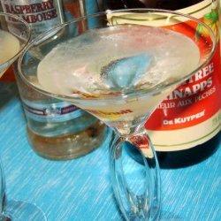 Mike's Peach Puff Martini recipe