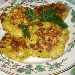 Leftover Turkey and Mashed Potato Patties recipe