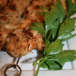 Grilled Shrimp With Garlic and Breadcrumbs recipe