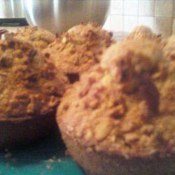 Quick and Healthy Oatmeal Raisin Breakfast Muffins recipe