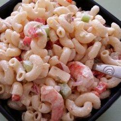 Cajun Macaroni Salad recipe