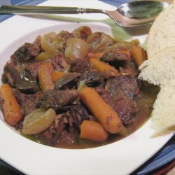 Beef Burgundy Aka Boeuf Bourguignon a La Ivo recipe