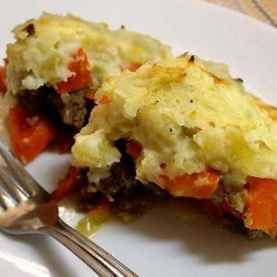 Ground Beef and Sausage Pie (Pastry or Potato Topped) recipe