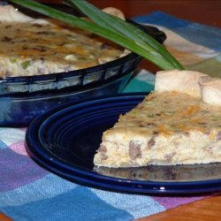 Meat and Cheese Pie recipe