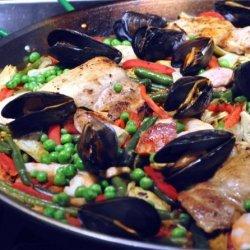 Al Andalus Paella recipe