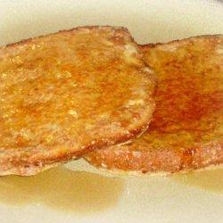 Healthy Low-Fat Banana French Toast recipe