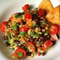 Barley and Black Bean Salad recipe