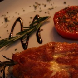 Chicken Breast With Rosemary, Fontina and Prosciuitto recipe