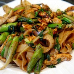 Chili Chicken With Asparagus recipe
