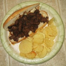 Teriyaki Steak Sandwich With a Twist recipe