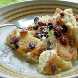 Microwave Bread and Butter Pudding recipe
