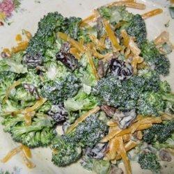 Broccoli and Cheddar Salad recipe