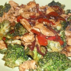 Stir Fry Chicken and Broccoli recipe