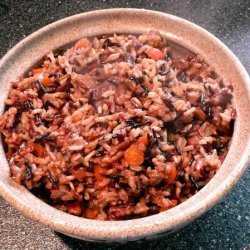 Wild Rice and Shiitake Mushroom Pilaf recipe
