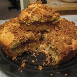 Apple and Cinnamon Crumble Cake recipe