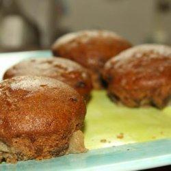 Vegan Apple-Bottomed Gingerbread Muffins recipe