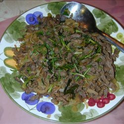 Beef With Four Onions recipe