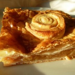Apple Flory -- a Puff Pastry Tart (Scotland) recipe