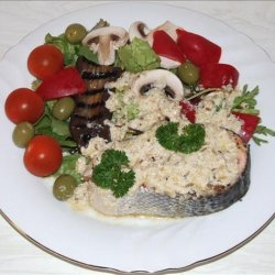 Salmon With Fennel and Cognac Sauce recipe