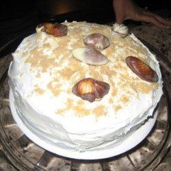 Graham Cracker Cake With Buttercream Frosting recipe