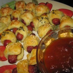 Pigs in a Blanket With Curried  ketchup  recipe