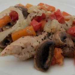 Tarragon Chicken Packets for Two recipe
