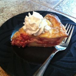 Strawberry Sour Cream Pie recipe