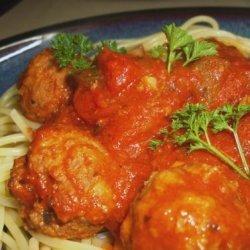 Italian Meatballs and Sauce recipe