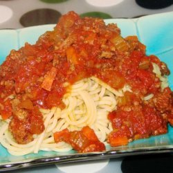 Slow-Cooker Spaghetti Bolognese recipe