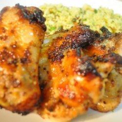 Sweet 'n' Sticky Chicken Wings recipe