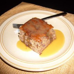 Date Pudding With Toffee Sauce (Sticky Toffee Pudding) recipe