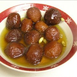 Sweet Milk Balls (Gulab Jamun) recipe
