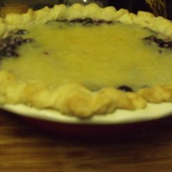 Blueberry Cobbler Pie recipe