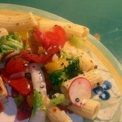 Spicy Tomato Pasta Salad recipe