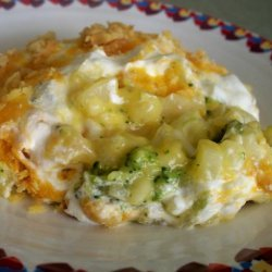 Broccoli Hash Brown Casserole recipe