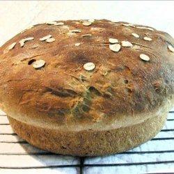 Whole Wheat Honey Casserole Bread recipe