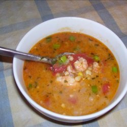 Mommie's Corn and Shrimp Soup recipe